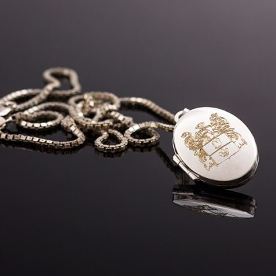 Personalised Silver Locket