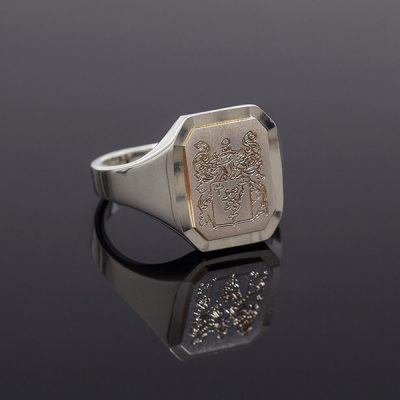 Personalised Family Crest Ring