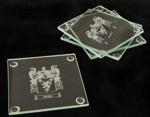 Personalised Glass Coasters