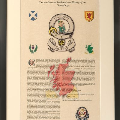 Scottish Clan Certificate
