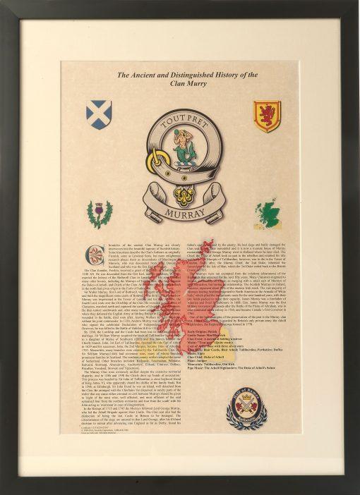 Scottish Clan Certificate