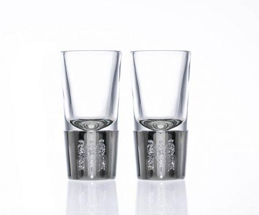 engraved pewter shot glasses