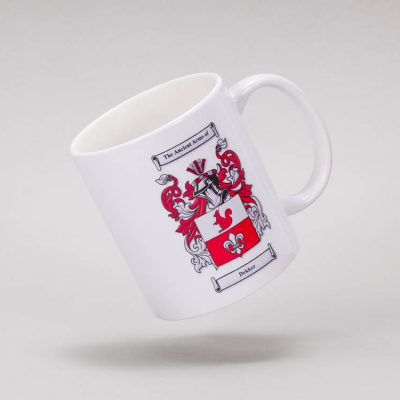 personalised mug family crest