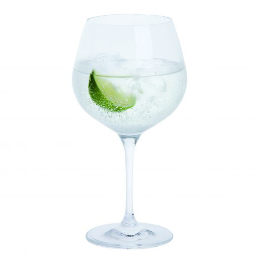 personalised gin & tonic glass wedding gift