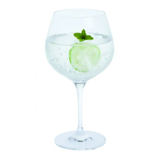 engraved personalised gin & tonic glass