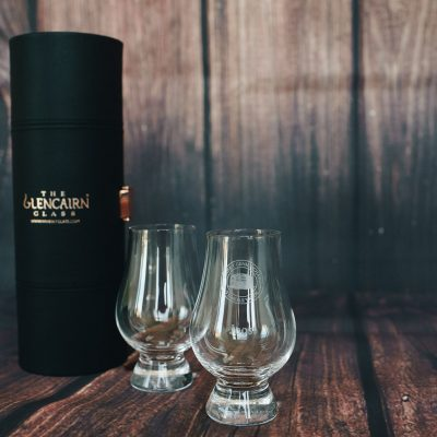 Engraved Glencairn personalised Whiskey Glasses Set