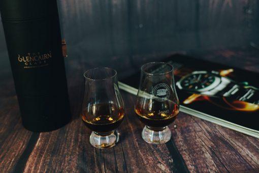 personalised whiskey glasses glencairn engraved