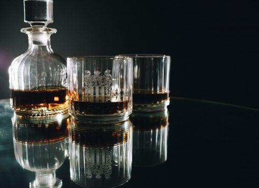 personalised whiskey decanter set