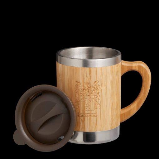 Personalised Travel Coffee Mug with lid